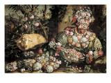 Le printemps Art par Giuseppe Arcimboldo