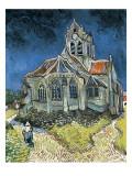 The Church at Auvers-Sur-Oise (L'Église D'Auvers-Sur-Oise, Vue Du Chevet) Kunstdrucke von Vincent van Gogh