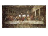Das letzte Abendmahl Kunstdruck von  Leonardo da Vinci