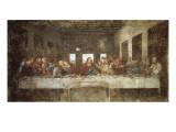 Het laatste avondmaal Print van  Leonardo da Vinci