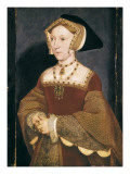 Jane Seymour, Queen of England Prints by Hans Holbein the Younger