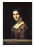 La Belle Ferronniere Posters af Leonardo da Vinci,