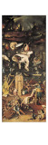 El jardín de las delicias Lámina por Hieronymus Bosch