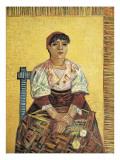 The Italian Woman Plakat av Vincent van Gogh