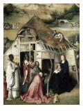 The Adoration of the Magi Poster von Hieronymus Bosch