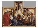 The Deposition from the Cross Posters par Rogier van der Weyden