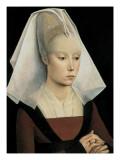 Portrait d'une dame Affiches par Rogier van der Weyden