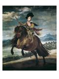 Prince Balthasar Carlos on Horseback Plakater af Diego Velazquez