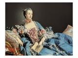 Madame De Pompadour Affiches par Francois Boucher