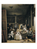 Las Meninas (The Maids of Honour or the Family of Philip IV) Pôsters por Diego Velazquez