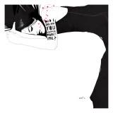 Did I Dream Giclée-Premiumdruck von Manuel Rebollo