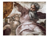 Sistine Chapel Prints by  Michelangelo