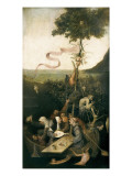 The Ship of Fools Plakat af Hieronymus Bosch