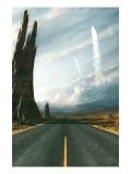 Mission Giclée-Premiumdruck von Stephane Belin