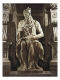Moisés Pôsters por  Michelangelo
