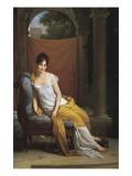 Madame Recamier Poster by Francois Gerard