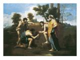 Arcadian Shepherds (Et in Arcadia Ego) Stampe di Nicolas Poussin