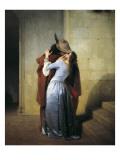 The Kiss Prints by Francesco Hayez