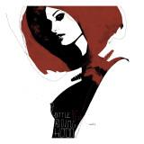Little Red Giclée-Premiumdruck von Manuel Rebollo