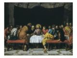Viimeinen ehtoollinen Posters tekijänä Frans Pourbus II