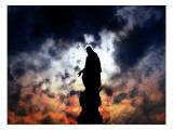 Under a killing moon 2 Giclée-Premiumdruck von Alex Cherry