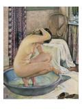 Nude in the Bath Posters av Théo van Rysselberghe