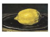 The Lemon (Le Citron) ポスター : エドワール ・マネ