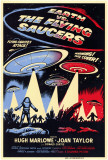 Earth vs. the Flying Saucers, 1956 Masterprint