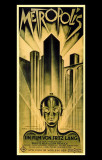 Filmposter Metropolis, 1927 Masterprint