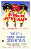 Chantons sous la pluie Affiche originale