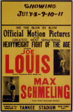 Joe Louis and Max Schmeling Affiche originale