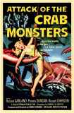 Attack of the Crab Monsters Masterprint