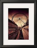 London Eye Print by Marcin Stawiarz