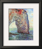 The Manneporte near Etretat, c.1886 Poster por Claude Monet