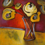 Yellow Poppies in a Vase Pôsters por Lanie Loreth