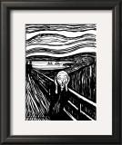 Pânico Pôsters por Edvard Munch