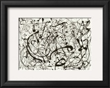 No. 14 (Gray) Prints by Jackson Pollock
