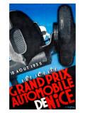 Grand Prix de Nice Reproduction procédé giclée