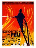 Exposition du Feu Giclee Print