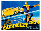 Chevrolet 1934 Reproduction procédé giclée
