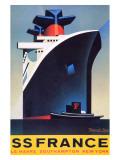 SS France Giclée-Druck