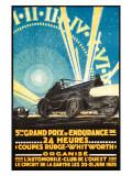 24 Heurs Grand Prix, 1925 Impressão giclée