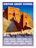 Simplon Orient Express, Grande Bretagne Giclée-vedos