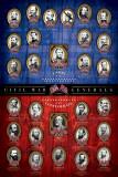 Civil War Generals Plakat