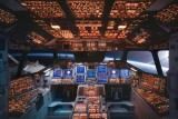 Space Shuttle Cockpit Columbia Posters