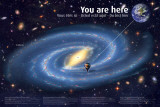 Universe: You Are Here Kunstdrucke