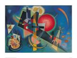 Im Blau Affiches par Wassily Kandinsky