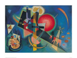 Im Blau Plakater af Wassily Kandinsky