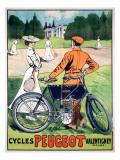 Cycles Peugeot Valentigney Giclee-trykk