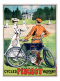 Cycles Peugeot Valentigney Giclee Print